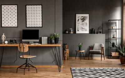 Der coole Loft Style für dein Arbeitszimmer