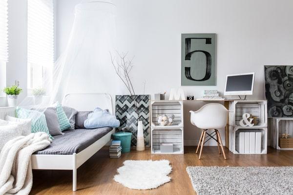 Die 10 wichtigsten Tipps für kleine Räume