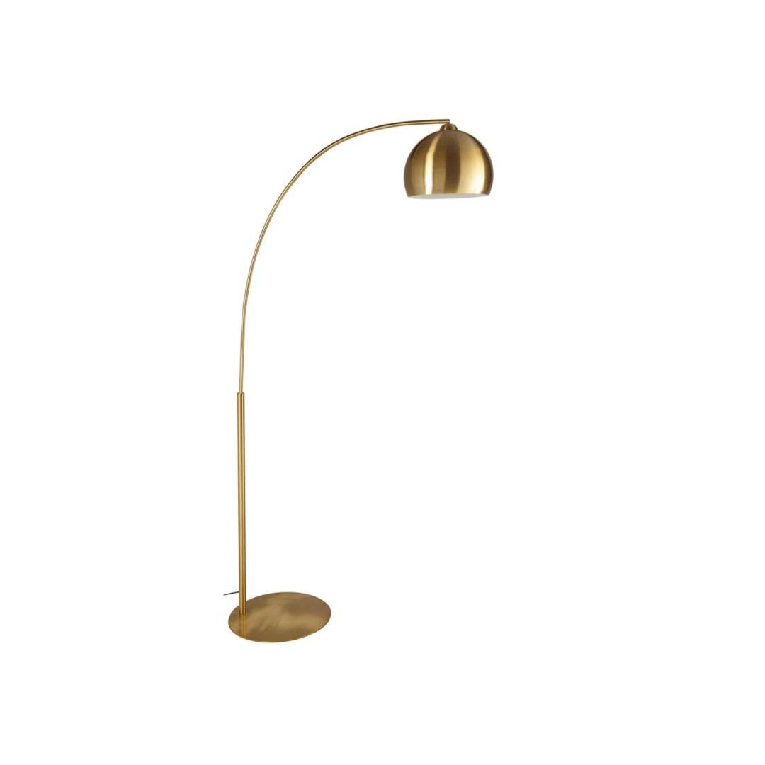 Gold Sphere Stehlampe aus goldfarbenem Metall H.206cm