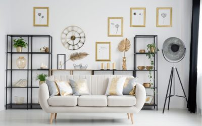 Industrial Glam Crossover im Wohnzimmer