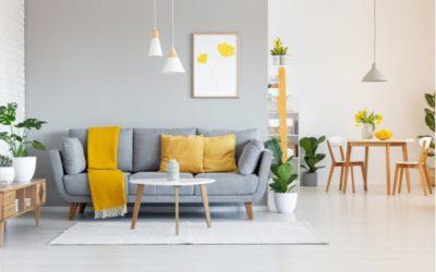 Schön Wohnen und Einrichten mit Gelb