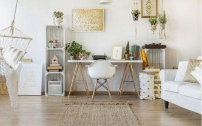 Schön Wohnen und Einrichten mit Weiß